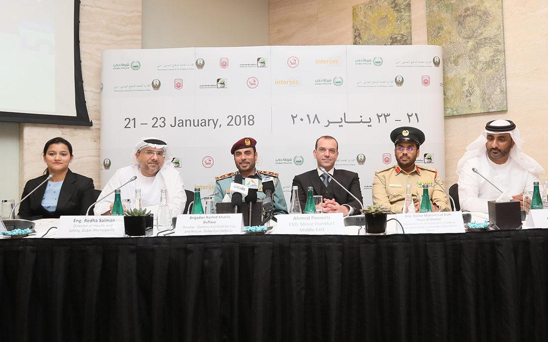 Intersec 2018 в Дубае готовится к открытию, отмечая 20 лет роста и успеха
