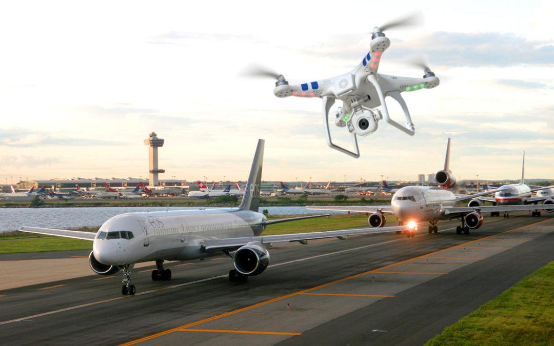 Борьба с угрозами дронов в аэропортах