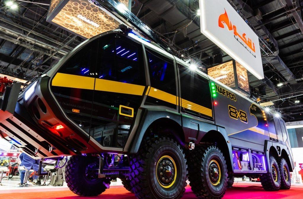 В ОАЭ разработали пожарную машину в стиле хай-тек